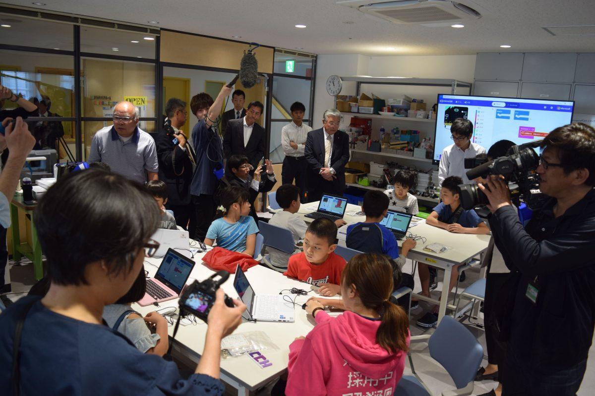 5月25日 コンピュータクラブハウス加賀の開所式を実施しました
